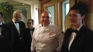 Al centro lo chef Maurizio Urso