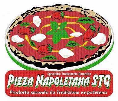 """La dicitura """"Prodotta secondo la Tradizione napoletana"""" e l'acronimo STG contenuti nel logo/etichetta della """"Pizza Napoletana"""" STG, sono tradotti nella lingua del Paese in cui ha luogo la produzione."""
